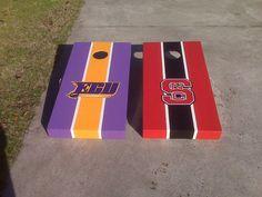 ECU/NCSU Cornhole Boards