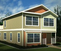 Two Story Mobile Homes Beach House Model Two Story Home