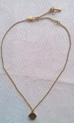 Kenneth Cole Necklace Gold Tone Store Display Without Tags - http://chic.designerjewelrygalleria.com/kenneth-cole/kenneth-cole-necklace-gold-tone-store-display-without-tags/