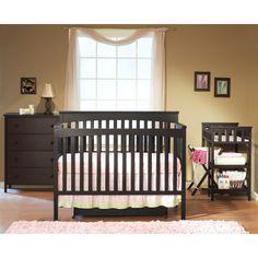 Sorelle SB2 Petite Paradise Convertible Crib Set