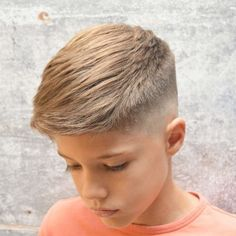 haircuts With so many cool haircuts for 11 and 12 year old boys, kids have a number of cute boy hairstyles to get in From a taper fade or undercut on the sides and back to Cute Boy Hairstyles, Boy Haircuts Short, Cool Boys Haircuts, Toddler Boy Haircuts, Trendy Haircuts, Haircuts For Men, Haircut Short, Hairstyles Men, Toddler Boys