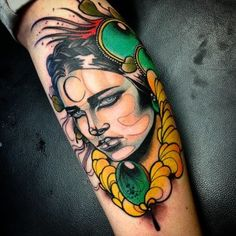 Done by Jef Small, tattoo artist at Adorned Empire Tattoo Studio (Fremantle)…