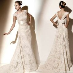Valentino wedding dress ! love the back ! Would be PERFECT if long-sleeved <3