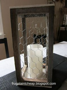 Image result for how to make a cheap lantern