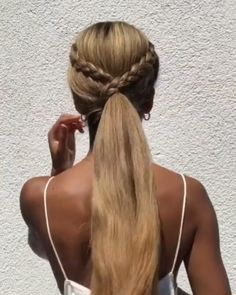 Braids For Long Hair, Easy Hairstyles For Long Hair, Easy Everyday Hairstyles, Hairstyles For School, Braided Hairstyles, Girl Hairstyles, Girl Hair Dos, Hair Up Styles, Great Hair