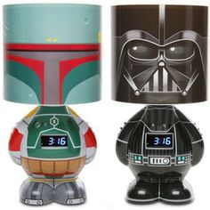 Star Wars Gifts - It's a lamp, alarm clock, and MP3 speaker all in one.