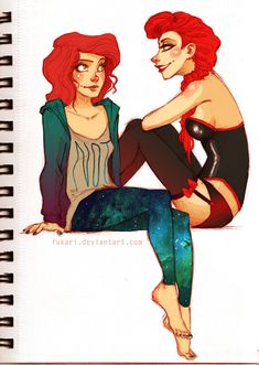 Chelle and Rita by *Fukari on deviantART