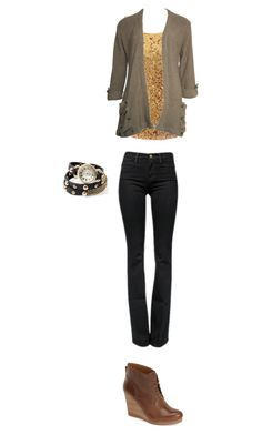 Untitled #1170 by tigergirl121 on Polyvore featuring polyvore, fashion, style, CO, Frame Denim, Lucky Brand and clothing