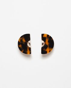 Image 1 of RESIN EARRINGS from Zara