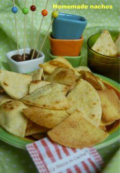 Homemade nachos