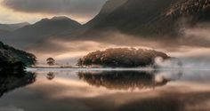'Mist and Reflections' Crummock Water, Cumbria, England
