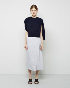 J.W. Anderson Herringbone Skirt | La Garçonne
