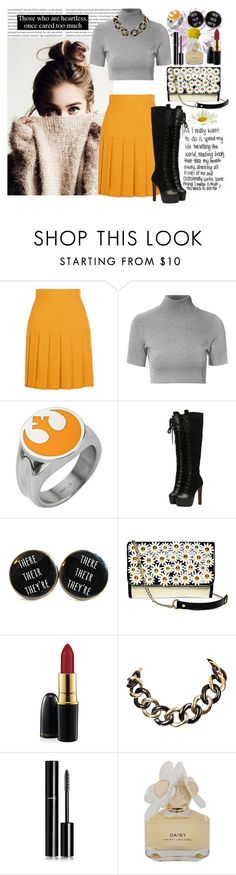 """744. Those Who Are Heartless!"" by khaosprincess ❤ liked on Polyvore featuring Gucci, Glamorous, Lulu Guinness, MAC Cosmetics, Chanel, Marc by Marc Jacobs, women's clothing, women's fashion, women and female"