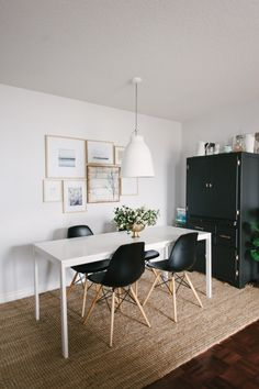 B&W dining room: http://www.stylemepretty.com/living/2015/02/26/51-reasons-black-and-white-is-having-a-moment/