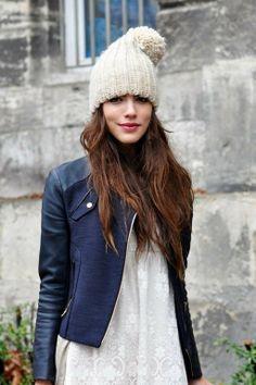 Cute hat look