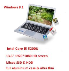 13.3inch Core I5 5200U laptop computer aluminium case 1920*1080 HD screen 4GB 500GB mixed HDD & SSD USB 3.0 Sale Only For US $599.00 on the link Windows 10 Operating System, Display Resolution, Laptop Computers, Hdd, Core, Laptops, Notebook, Link, Laptop