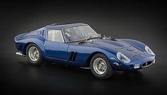 |++ 1962 Ferrari 250 GTO in Blue Diecast car model by CMC in 1:18 Scale by CMC