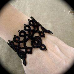 Pizzo Tatted bracciale braccialetto  Diadem di TotusMel su Etsy
