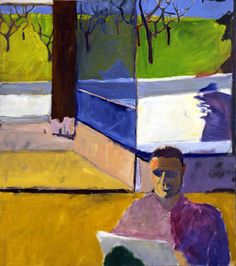 unknown Richard Diebenkorn -artist use of geometry