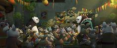 Kung Fu Panda 3 Anime Wallpaper Wallpaper
