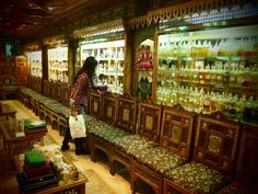 At the Egyptian Perfumery