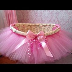 Would be cute to fill up with a bunch of products for baby shower