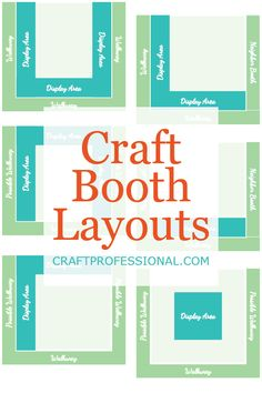 Check out these popular craft booth layouts, examine the pros and cons of each, and decide which is best for your craft business needs. Craft Show Booths, Craft Booth Displays, Vendor Displays, Craft Show Ideas, Craft Show Booth Display Ideas Layout, Booth Ideas, Vendor Booth, Vendor Table, Craft Fair Table