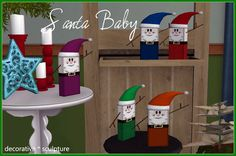 Mod The Sims - Santa Babies and Friends (Updated 12/13/12 - New Meshes Added)