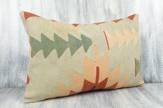 16x24 Ethnic Kilim Pillow Bohemian Kilim Pillow Decorative | Etsy Brown Pillows, Aztec Pillows, Brown Cushion Covers, Pillow Covers, Kilim Cushions, Kilim Pillows, Weaving Techniques, Outdoor Sofa, Decorative Throw Pillows