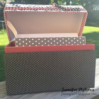 jd designs - covered box for CTMH card set