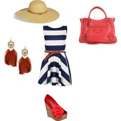Sunny Sailor, created by ebeth76 on Polyvore