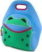 Dabbawalla neoprene lunch bag - frog