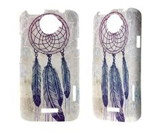 Htc One X Case Dream Catcher Hard Case Htc One X Cool Cell Phone Cases Cover DreamCatcher Lovely<3