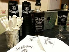 Party results Jack Daniel's birthday bar set