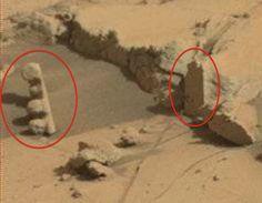 UFO observações diárias: duas descobertas arqueológicas em Marte, Set 2014, da observação do UFO News.