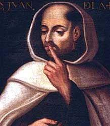 San Juan de la Cruz, religioso carmelita