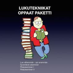 Lue oikealla tekniikalla Reading Comprehension, Special Education, Advice, Teaching, Fictional Characters, Tips, Learning, Education, Fantasy Characters