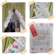Wertmarken-Liebhaberin Jessica schickte uns das Bild ihres Adventskalenders. Der ist voll mit Liebe. Gefällt uns riesig. Danke Jessi!