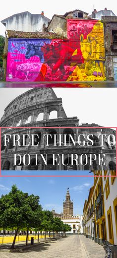 Wanting to travel Europe but on a tight budget? Check out my free things to do list!