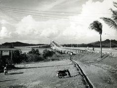 July Inauguration of the San Juanico Bridge, the longest bridge in the Philippines. Manila, Philippines, Cities, Bridge, Country Roads, San, Events, History, Water