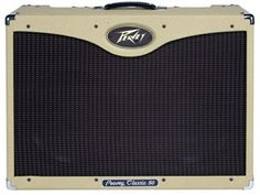The Peavey Classic 50212 is a versatile all-tube amplifier with three 12AX7s up front and four EL84 power amp tubes plus normal and bright inputs, 3-band passive EQ, and active presence control.