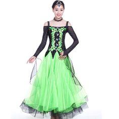 green blue red dress-for-ballroom-dancing standard ballroom dress woman ballroom dance dress waltz fox-trot latin ballroom dress Latin Ballroom Dresses, Ballroom Dancing, Dance Wear, New Product, Blue Green, Fox, Woman, Modern, How To Wear