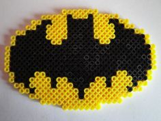 Batman Logo Hama bead Sprite by ~rinoaff10 on deviantART