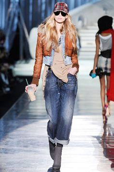 Dsquared² With better fitting jeans I can see my tomb raider in this outfit