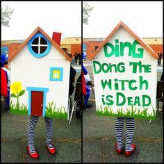 wizard of oz homemade decorations   Homemade Halloween costume. Wizard of Oz. By: Monica Sera