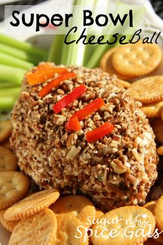 Spice Gals: Super Bowl Cheese Ball