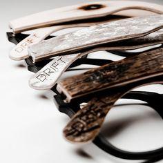 Drift Eyewear - Hardwood frames tap architecturally-inspired design for a better fit