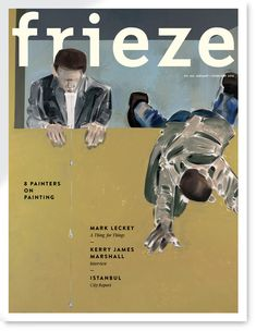 frieze (via Nascapas) The Artist Magazine, Magazine Art, Magazine Design, Magazine Spreads, Magazine Covers, Frieze Magazine, Rose Wylie, Istanbul City, Southwest Art