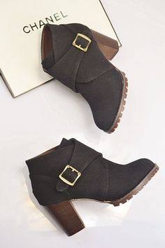 boots - http://zzkko.com/n230853-013-new-female-boots-belt-buckle-Korean-frosted-thick-with-big-European-and-American-high-heeled-boots-Knight-Martin-boots.html $34.57