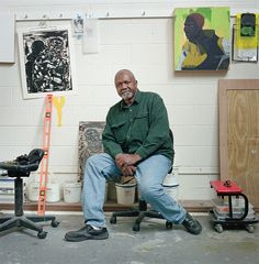Kerry James Marshall Is Shifting the Color of Art History - For more than 40 years, the Chicago-based artist has made it his mission to paint black figures into the canon.